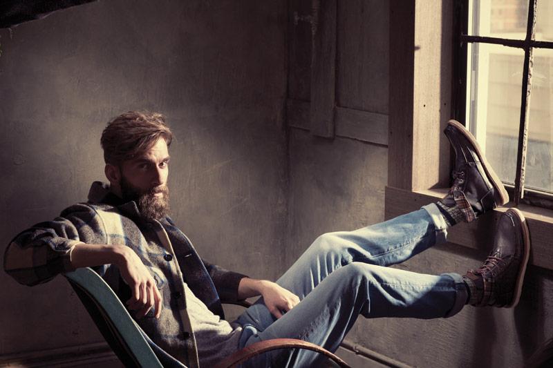 Toms, Pendleton, American Apparel, Levi's, United Legwear.