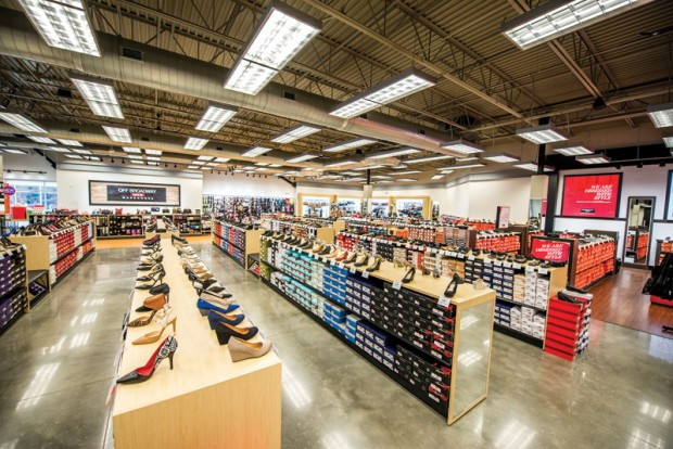 The discount formula at Off Broadway Shoe Warehouse  does not come with a reduction in service.