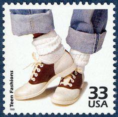 Stamp - bobby sox