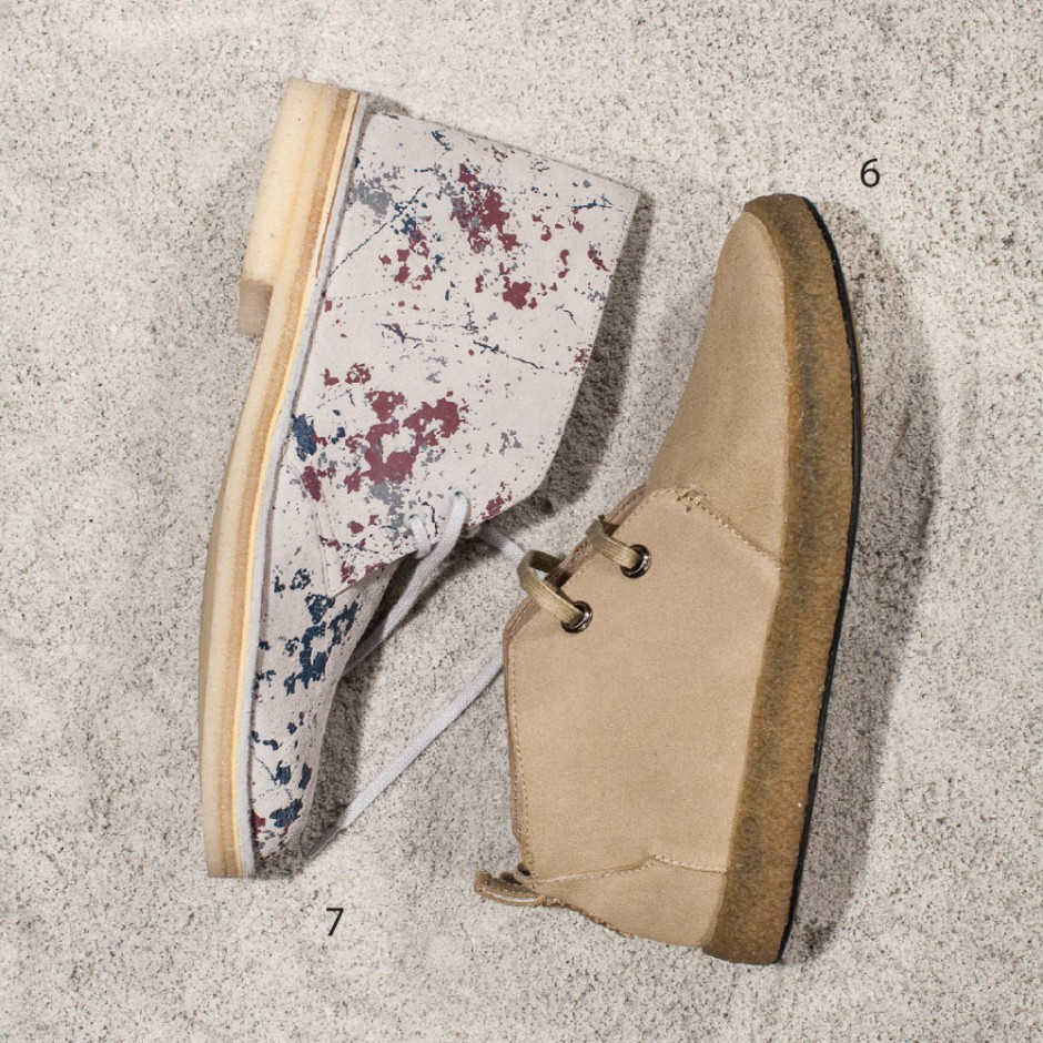 Desert Delights: Desert Delights The desert boot, a menswear staple, gets a fresh makeover for fall.
