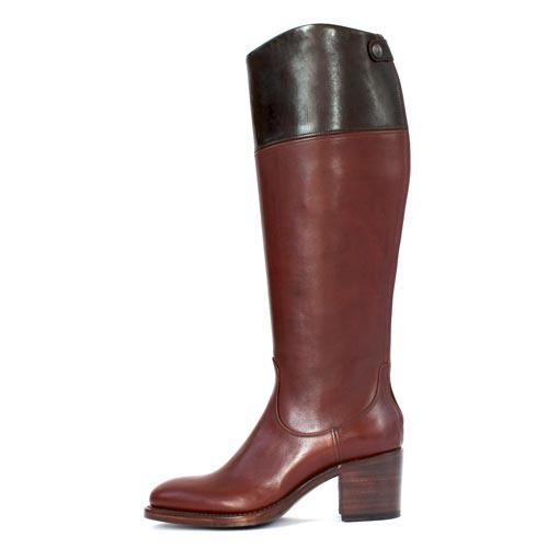 The Office of Angela Scott Lush materials take the classic riding boot up a notch.