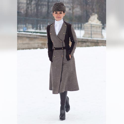 Bundling up never looked so chic at Paris Haute Couture week.