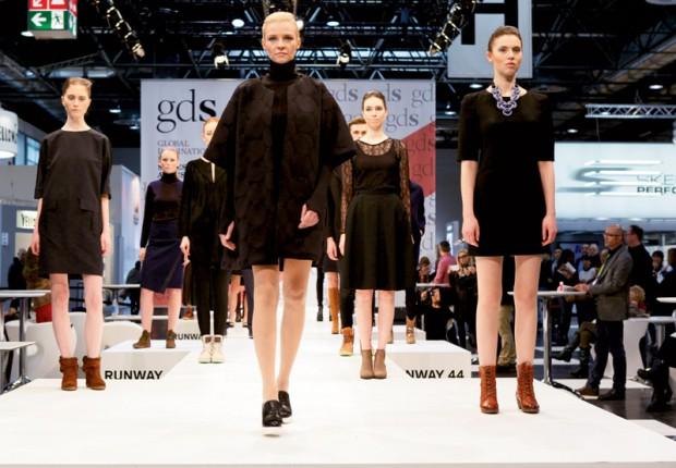 The catwalk at GDS.