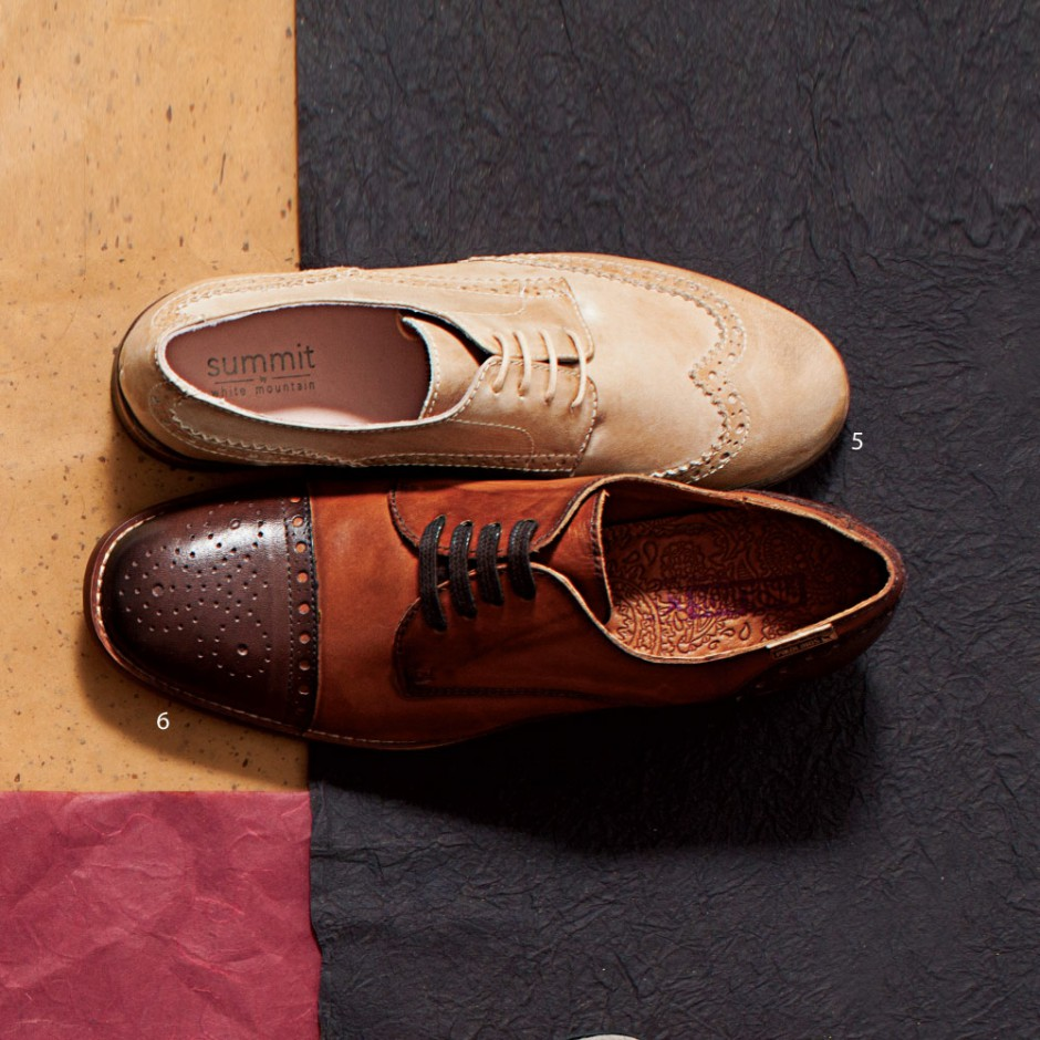 Gentle Women: Traditional men's oxfords fit for a lady
