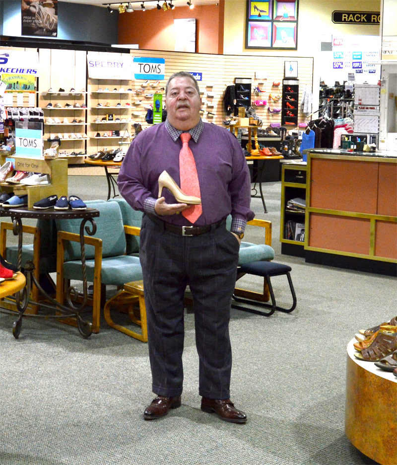 Mark Jubelirer, president of Reyers Shoe Store