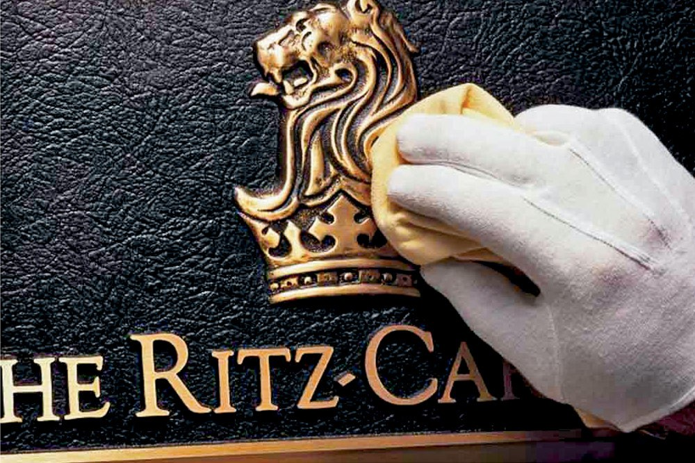 Service, Please: Putting  on the Ritz