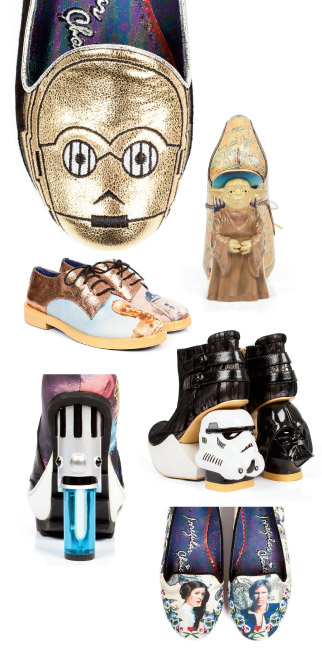 Irregular Choice's Star Wars collection in collaboration with Disney.